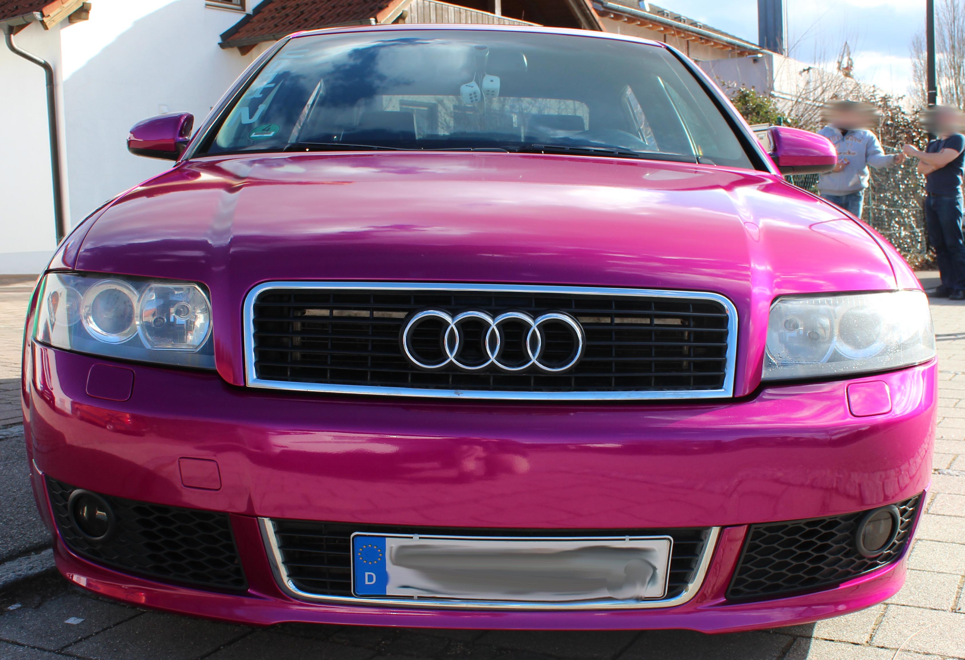 Car_Wrap_Vollflächenbeklebung_Audi_A4