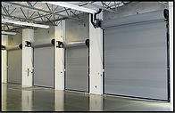 Commercial garage doors installation, Balboa CA