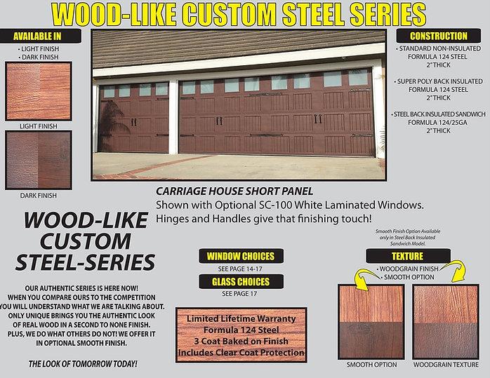 carriage garage door replacement