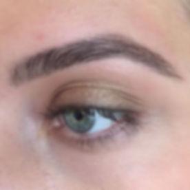 This brow bringing me LIFE! Full, shapel