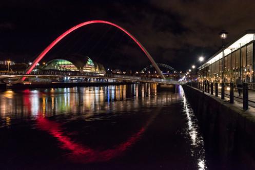 'Paint the bridge red'