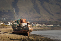 'The Golden Harvest' aka Corpach Wreck, Fort William, Scotland