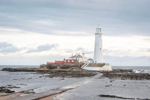 St Mary's Island, Whitley Bay, Northumberland