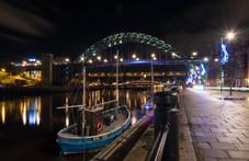 'Rachel Douglas' on the River Tyne