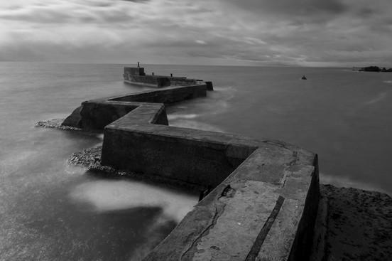 St Monan's Pier, St Monan's, Fife, Scotland