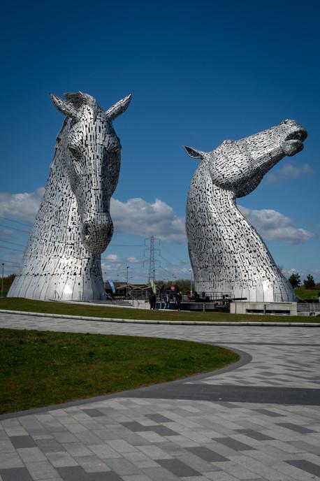 'The Kelpies', Falkirk, Scotland