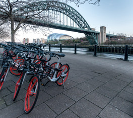 'A ride along the Quayside', Newcastle