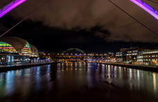 The River Tyne at Night