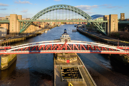 View from High Level Bridge, Newcastle
