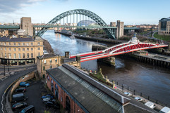 View from the High Level Bridge, Newcastle