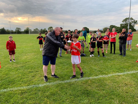 Great night in Darver for our U12s