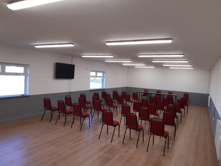 Our New Clubrooms