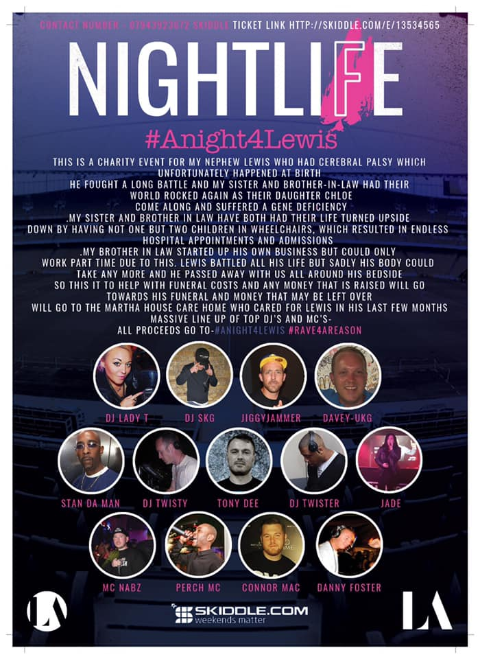 NIGHT LIFE - CHARITY EVENT