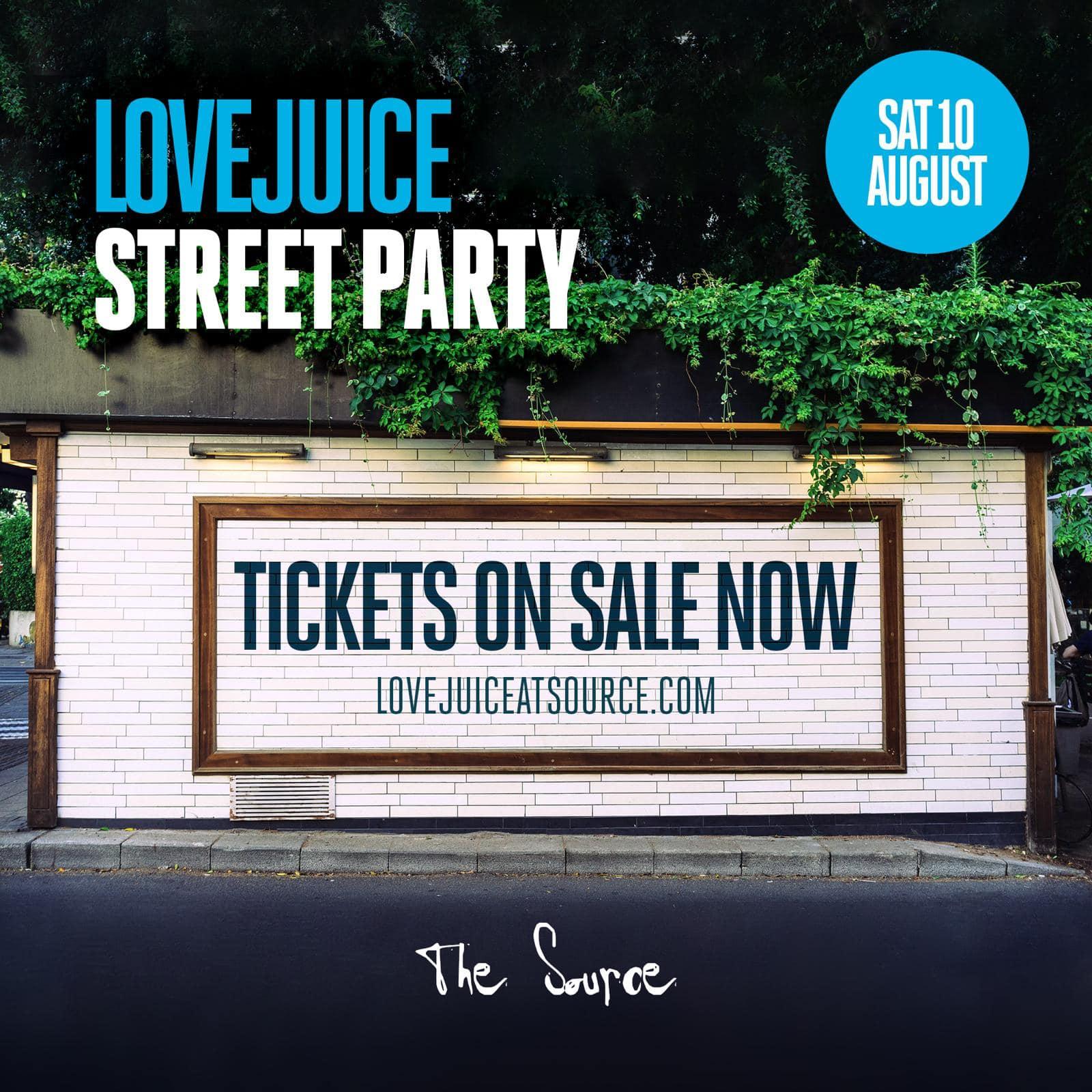 love juice street party
