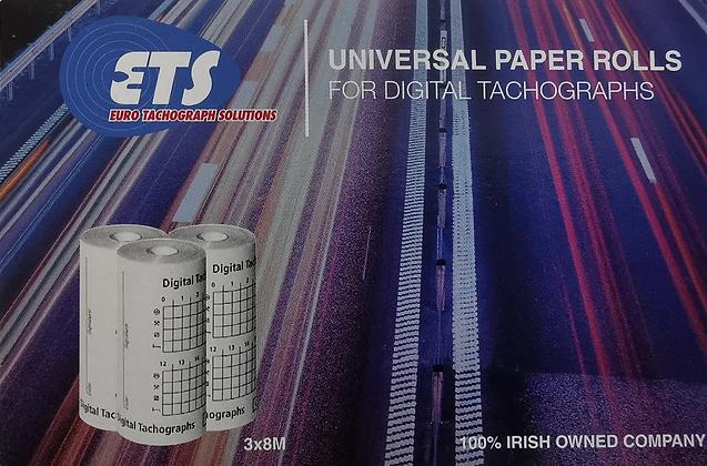 Digital Tachograph Paper Rolls (1-20 boxes)