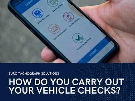 Daily Vehicle Walkaround Checks - Operator Driver Obligations