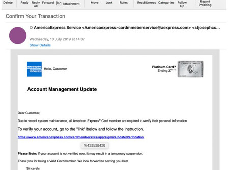 American Express Customers Targeted by Novel Phishing Attack