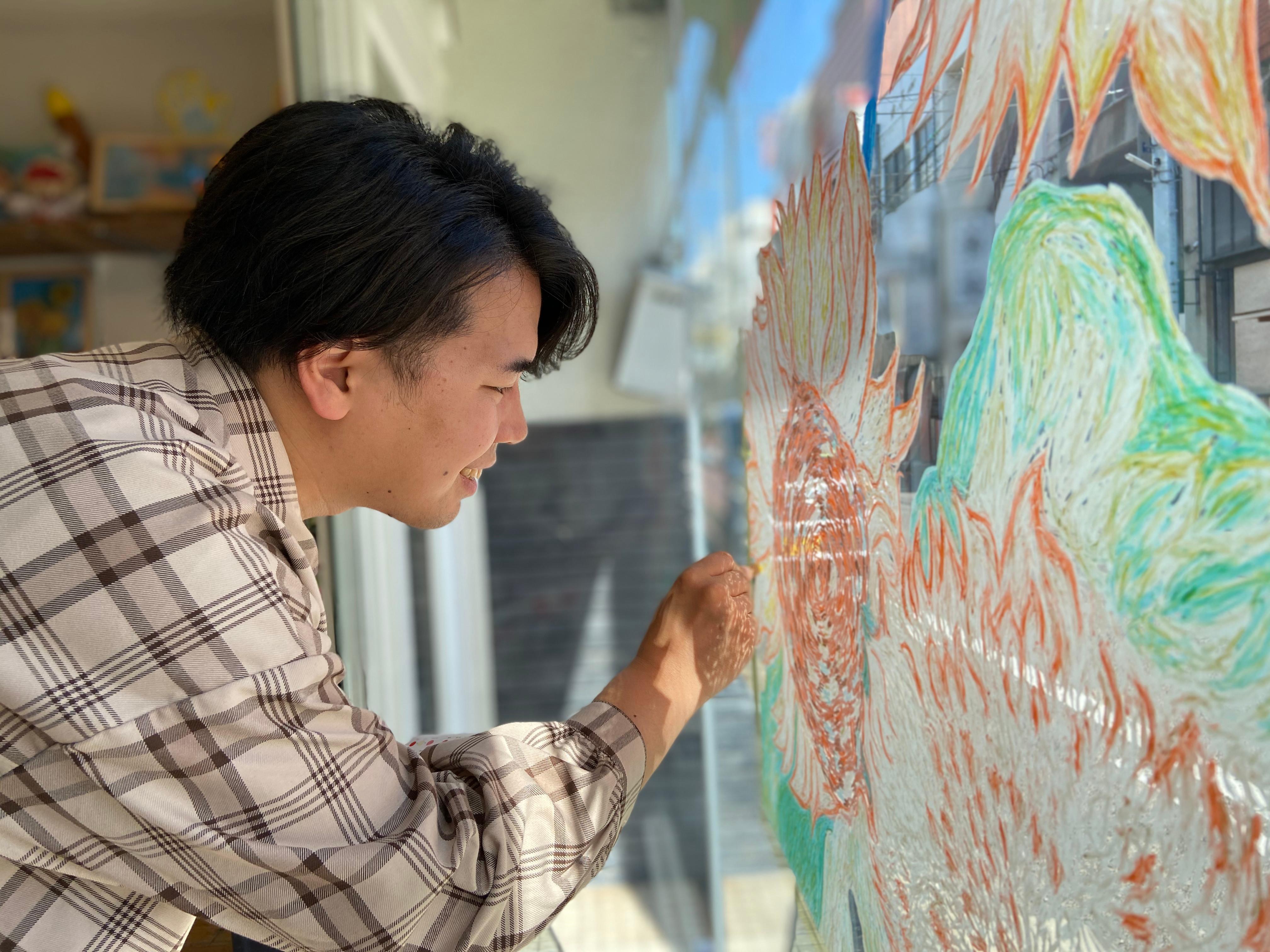 キットパスアート教室