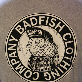 T-shirts for sale at Badfish