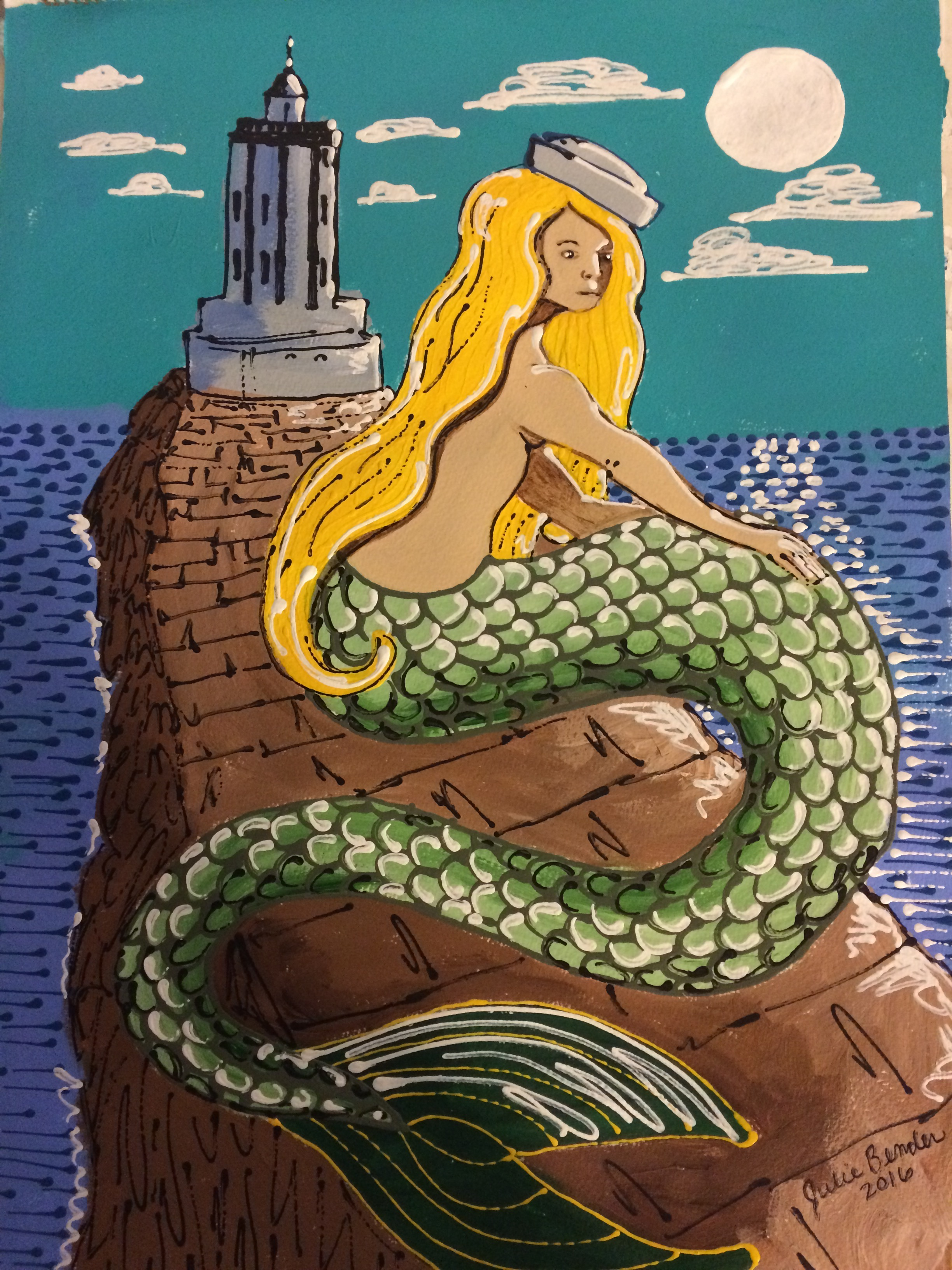 Blond Mermaid_B