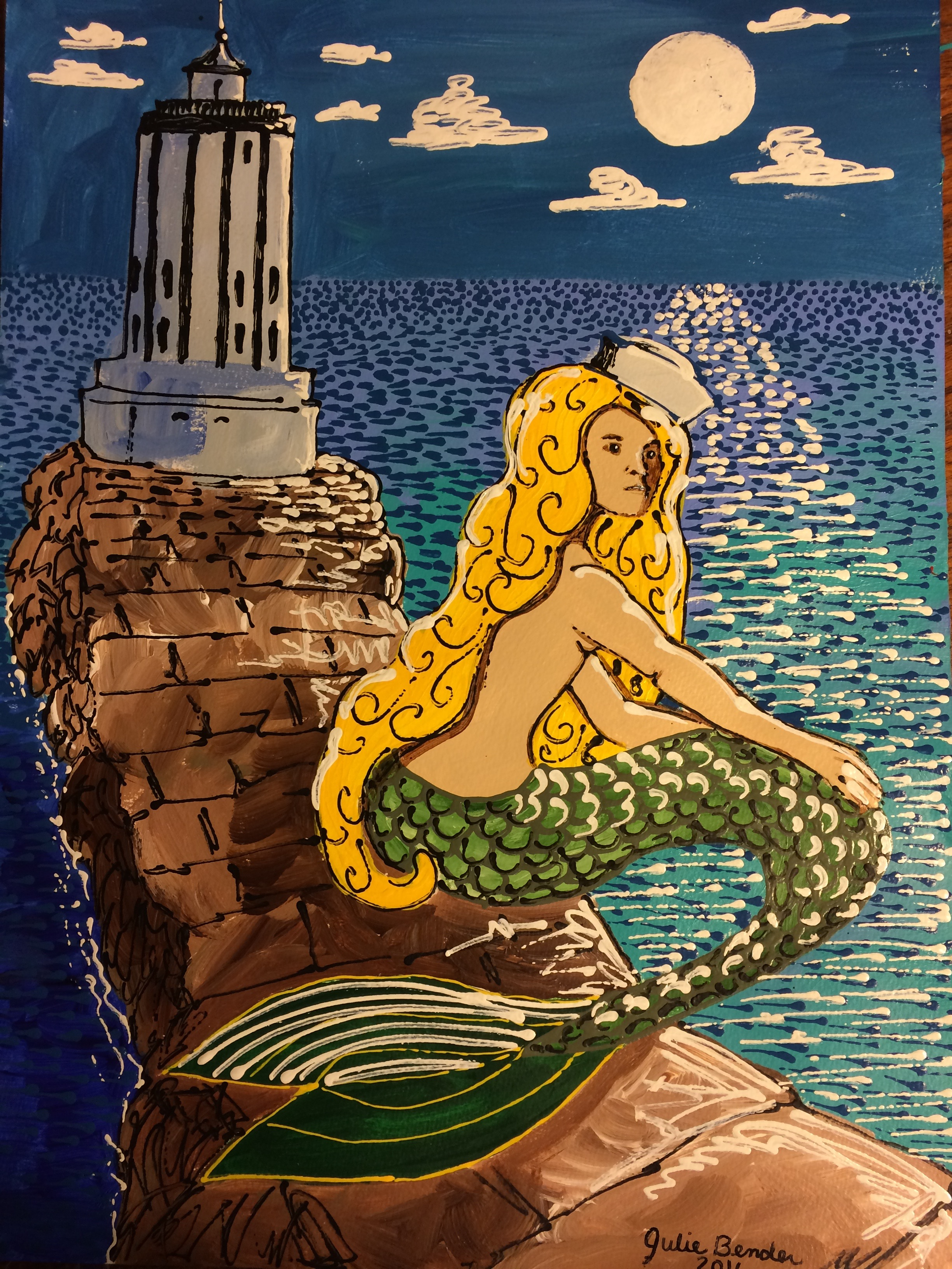 Blond Mermaid
