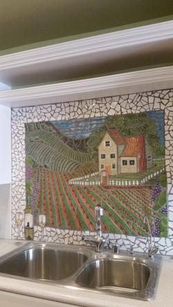 Vineyards Back Splash