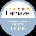 Lamaze Certification Badge