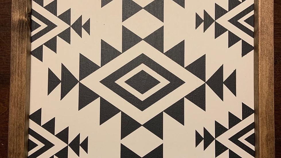 Geometric Woodart
