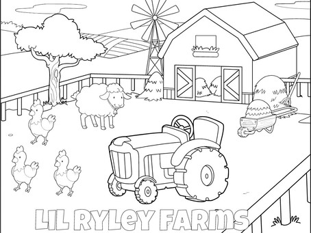 KIDS COLORING CONTEST!