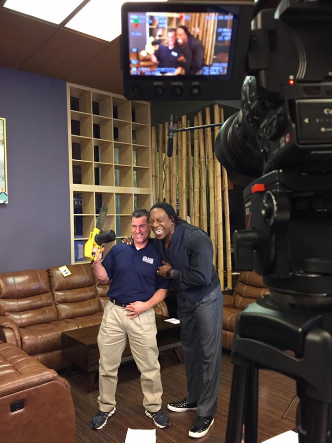 Hilton Furniture starts year with brand new spots featuring Booker T
