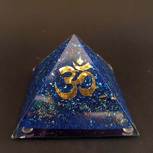 Pyramide Bleu 🕉 AUM Protection