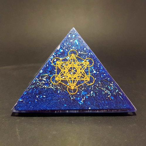 Pyramide Bleue Metatron - Protection - Bien être