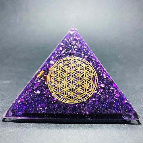M2 - Pyramide Fleur de vie  - Protection - Bien être