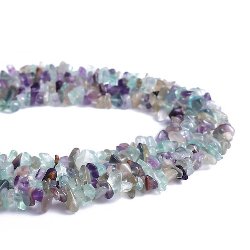 Collier Baroque Fluorite