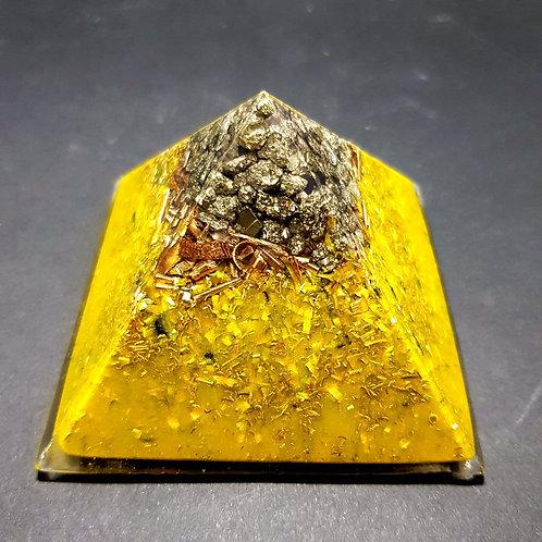 i - Orgonite Pyrite -Protection - Bien être