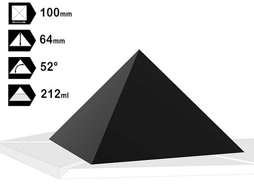 Moule Pyramide 70, 80, 100, 120mm HDPE