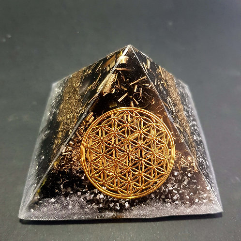 T6 - Pyramide - Protection - Fleur de vie - Harmonie
