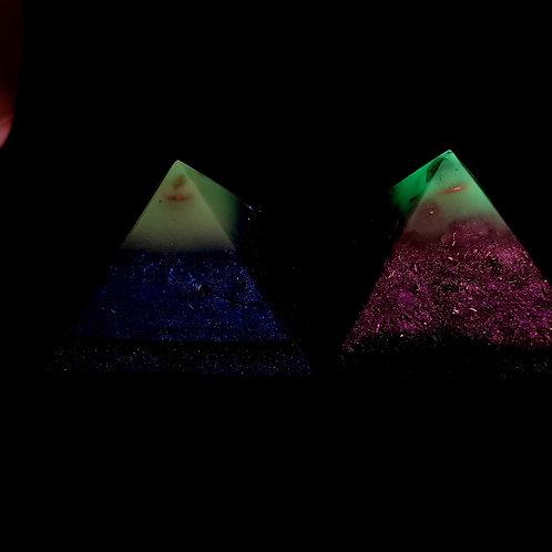 Pyramide Phosphorescente - Protection - Bien être