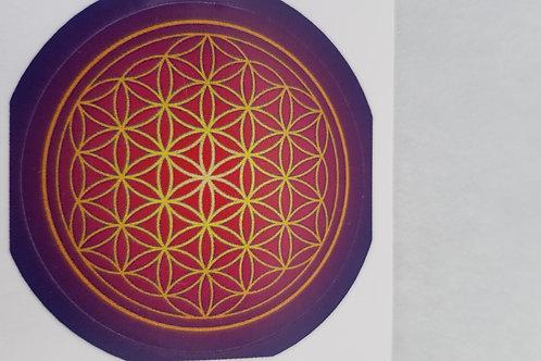 Stickers Fleur de vie 35mm