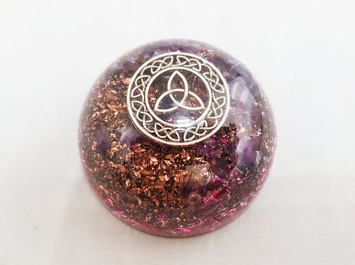27 - Orgonite Triquetra protection