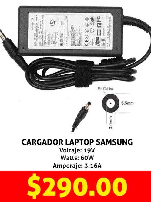 Cargador para laptop Samsung
