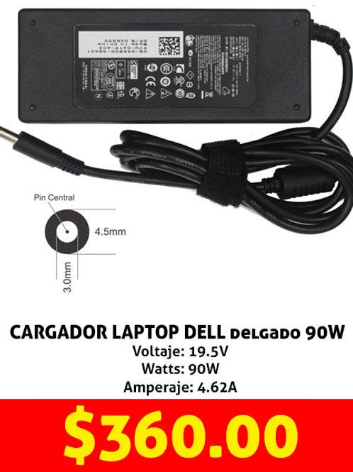 Cargador para laptop Dell 90W delgado
