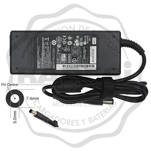Cargador para laptop HP pin central 90W