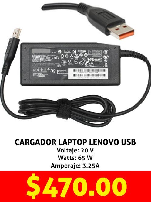 Cargador para laptop Lenovo USB