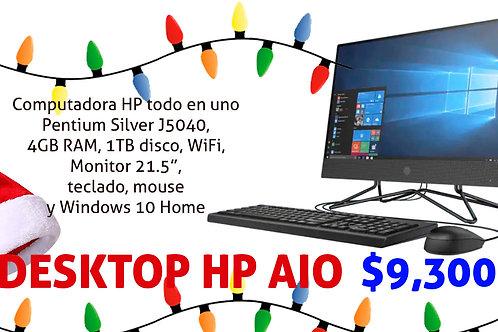 AIO HP Pentium Silver
