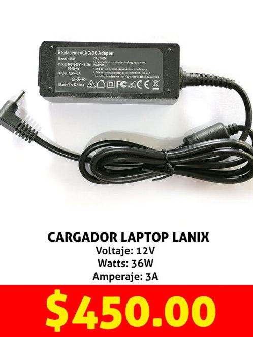 Cargador para laptop Lanix