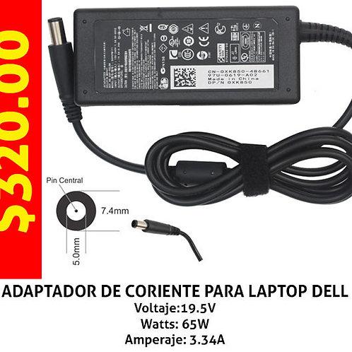 Cargador para laptop Dell 65W grueso