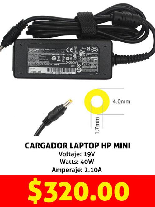 Cargador para laptop HP mini