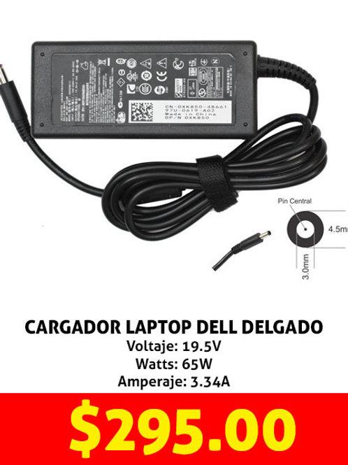 Cargador para laptop Dell delgado 65W