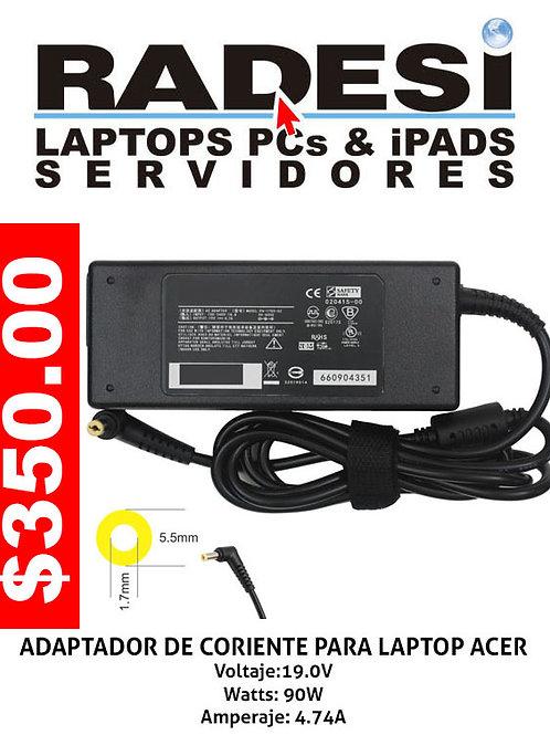 Cargador para laptop Acer